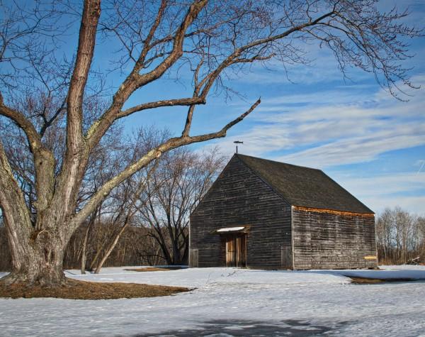 Historic barn on historic farm